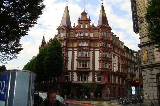 Hotel Waldstätterhof: Waldstaetterhof Hotel, Luzern