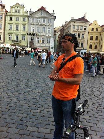 Prague E-bike tours and E-bike rental: Thomas our guide - great insights!