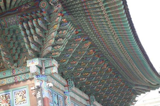 Jogyesa Temple: Full of colours and details