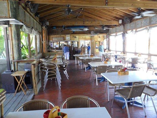 Island Grill: Dining al fresco