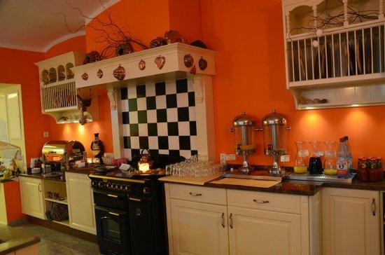 Hotel Villa Monte Vino: une petite partie présentation du petit déjeuner