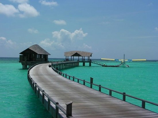 The Sun Siyam Iru Fushi Maldives: Основной пирс