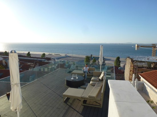 Memmo Alfama Hotel: Blick auf den Tejo