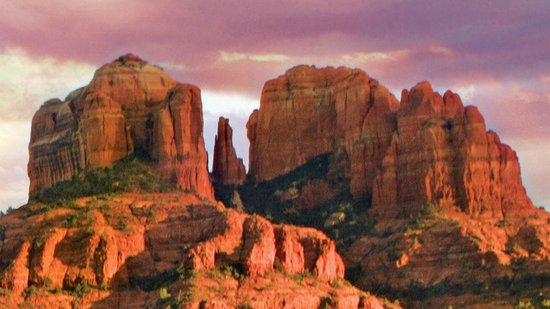 cathedral rock sedona az picture of center for the new age