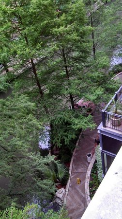 The Westin Riverwalk, San Antonio : Balcony View
