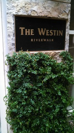 The Westin Riverwalk, San Antonio: Riverwalk Entry Sign