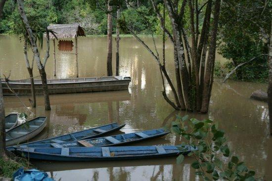 Muyuna Amazon Lodge: Rain