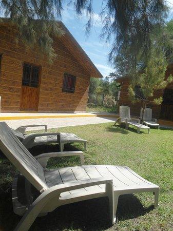 Jard n fuera de caba as picture of balneario y cabanas for Escaleras para caminar fuera del jardin