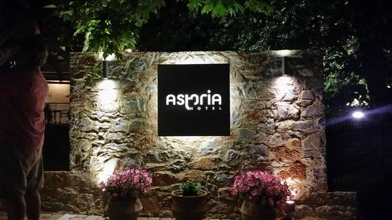 Astoria Hotel: Entrance to the hotel