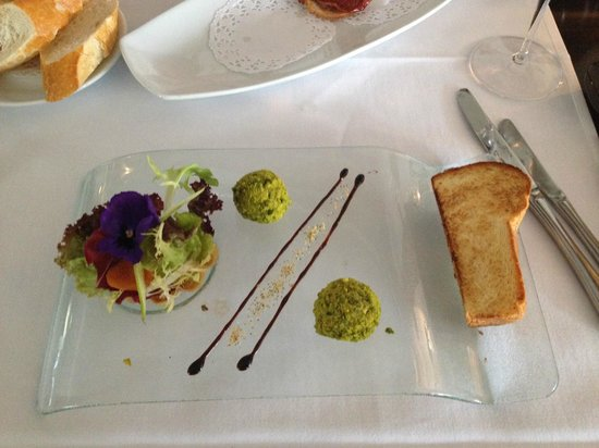 Toni's Ristorante : le fois gras à la pistache