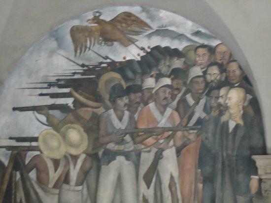 Palacio Nacional: Fuzilamento de Maxmiliano