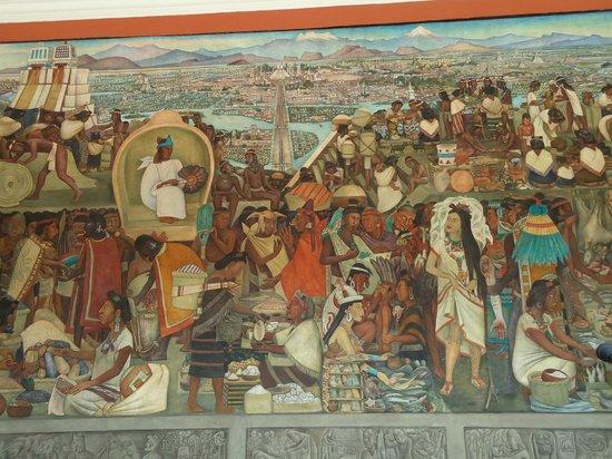 Palacio Nacional: Civilização Totonaque