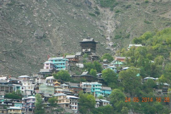 Kamru Fort: Kamru village