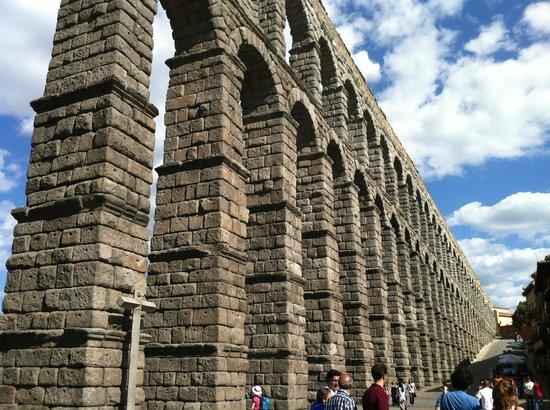 Aquädukt von Segovia: Único y magnífico
