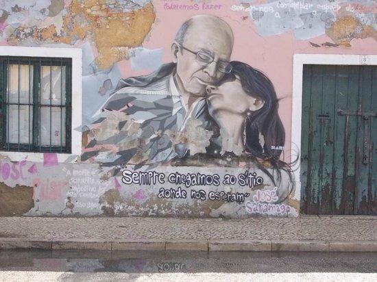 Fundacao Jose Saramago: Murales