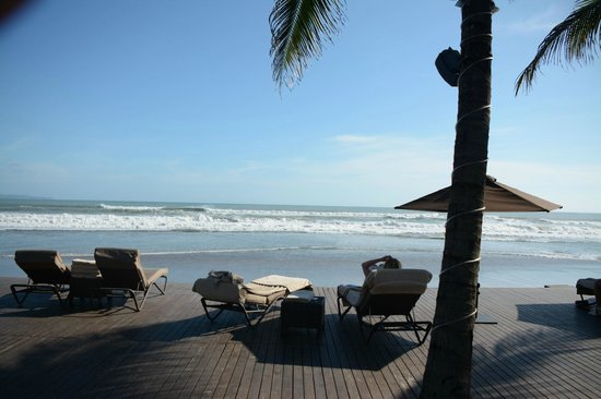 The Samaya Bali Seminyak: View from behind lounge area