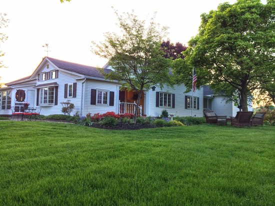 Springdale Farm Bed & Breakfast: The bed and breakfast
