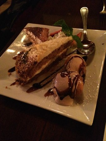 Club A Steakhouse : Dessert!