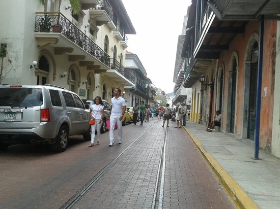Catedral de Panamá la Vieja: Caminando por la ciudad antigua