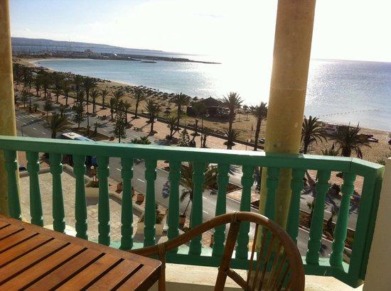 El Mouradi Hammamet : Notre vue mer
