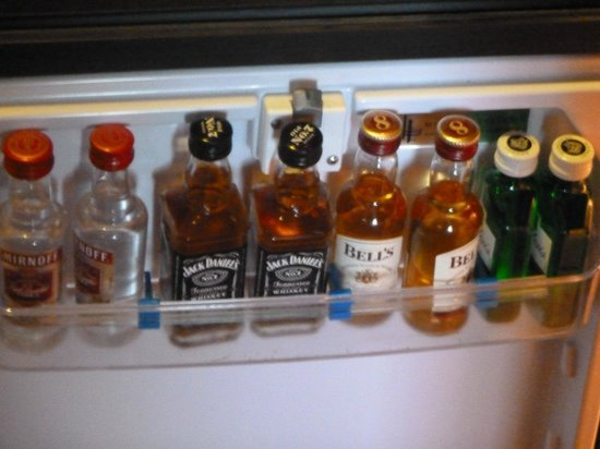 Royal Yacht Hotel: Mini bar