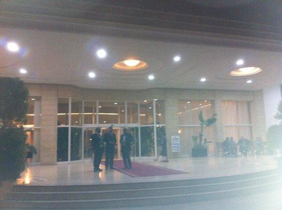 El Mouradi Hammamet : L'entrée principale