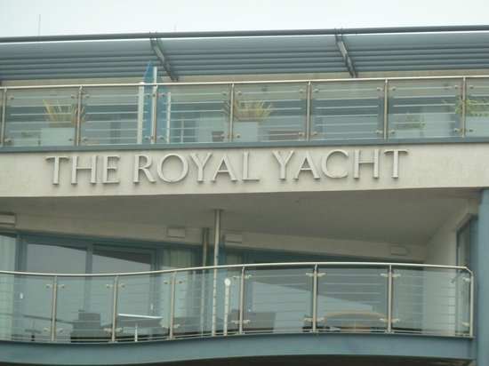 Royal Yacht Hotel: view outdoors