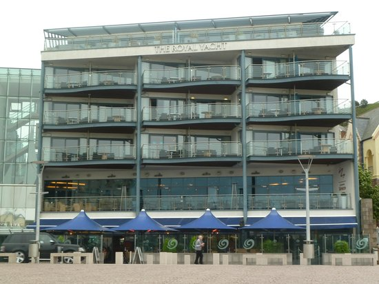 Royal Yacht Hotel: view