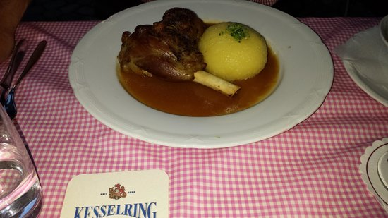 Restaurant Zum Stern: Shoulder of lamb