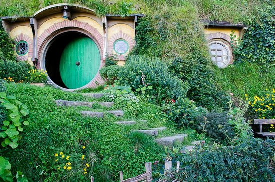 Hobbiton Movie Set Tours: Holes, holes and more holes in the ground.