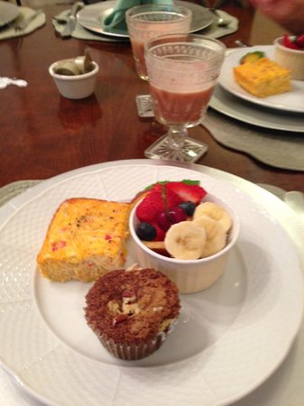 Montford Inn and Cottages: Breakfast