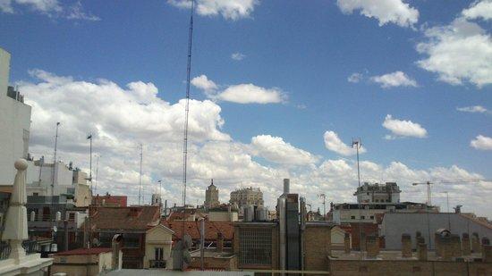 Madrid Motion Hostel: Vistas desde la 7 planta