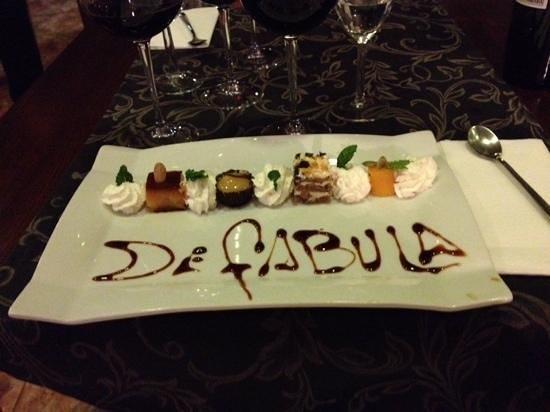 Restaurante de Fabula Mediterranea : sweets are to die for