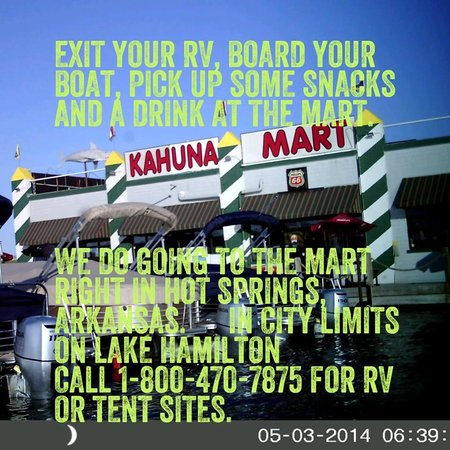 Young's Lakeshore RV Resort : RV & Tent sites in Hot Springs, Arkansas city limits on Lake Hamilton