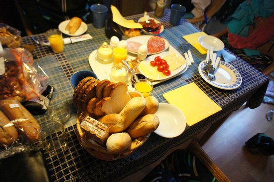 B&B den Haesell: breakfast