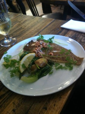 The Staith House : lemon sole