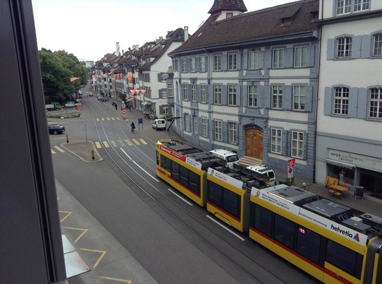 Hotel D - Basel: view from room
