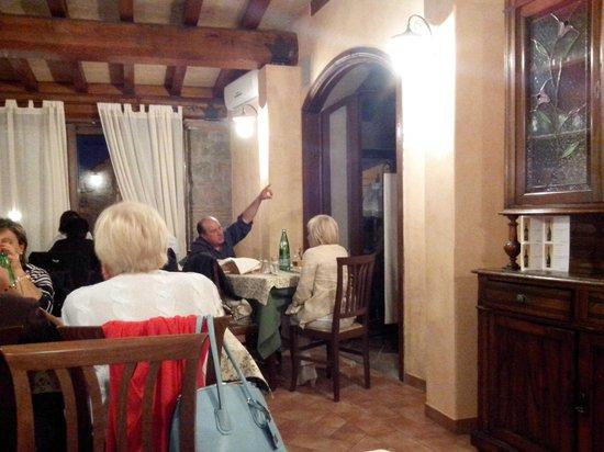 Chia, Italy: il ristorante