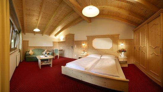 Hotel Eden: Panoramasuite mit Blick auf den Hintertuxer Gletscher