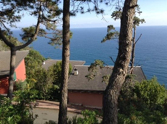 La Francesca Villas & Resort: vue depuis le bungalow