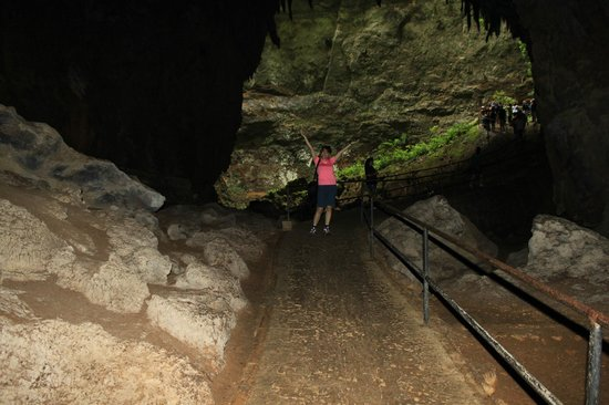 Parque de las Cavernas del Rio Camuy : Ending of cave