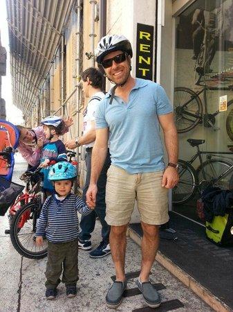 Veronality: Family Bike Tour - starting tour