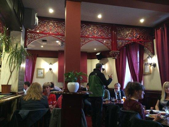 Castle Tavern: Upstairs dining room
