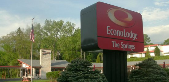 The Springs Inn: The Springs is now part of Econolodge