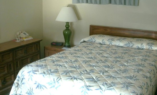 The Springs Inn: My bed