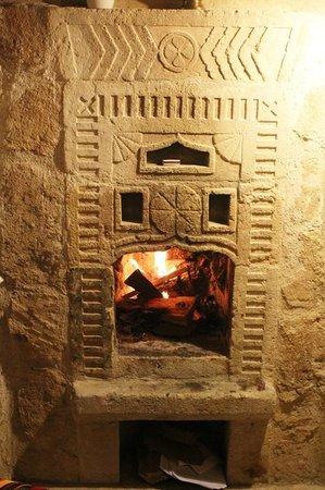 Traveller's Cave Hotel : My firestove