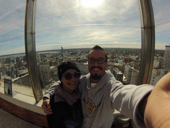 Mirador Panoramico de Montevideo: Selfie