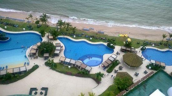 The Westin Playa Bonita Panama: Vista de la playa en la mañana