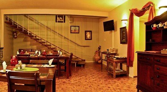 Guesthouse Fischreiher B&B : Dining room