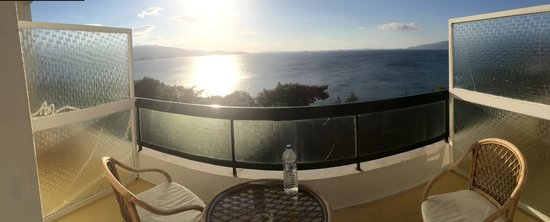 Hotel King Saron : balcon vue mer chb 413